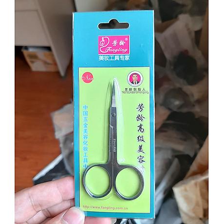 Kéo tỉa mi mũi cong Eyebrow Scissors 3