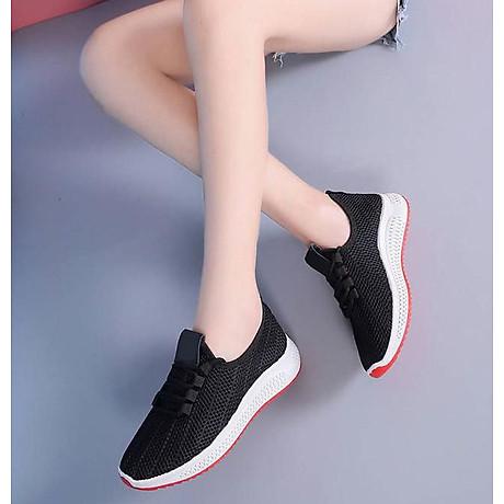 Giày Thể Thao Nữ Vải Cao Cấp 3Fashion Nhẹ Êm Chân Thích Hợp Đi Công Việc, Du Lịch, Vận Động - 3215 6
