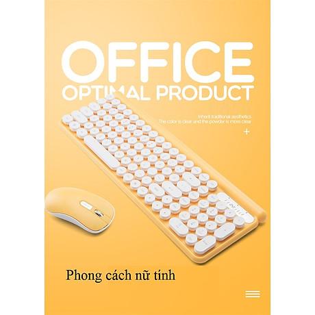 Bộ bàn phím và chuột không dây LT400 phiên bản sạc (tặng kèm lót chuột) - Hàng Nhập Khẩu 8