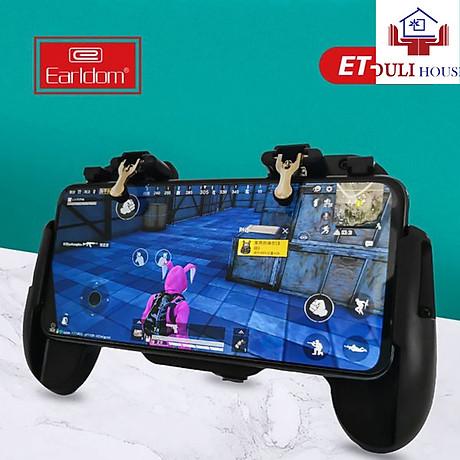 Tay cầm chơi game, kèm nút bấm cao cấp, dành cho điện thoại dưới 6.5 inch, chơi Liên quân Mobile, CrossFire, PUBG, FF - Hàng Chính Hãng 1