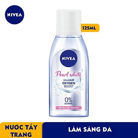 Nước Tẩy Trang NIVEA Pearl White Làm Sáng Da Micellar Water (125ml) - 84910 2
