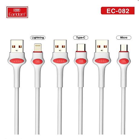 Cáp Sạc Earldom 1M cho các dòng điện thoại EC-082 - HÀNG CHÍNH HÃNG 100% (giao màu ngẫu nhiên) 1