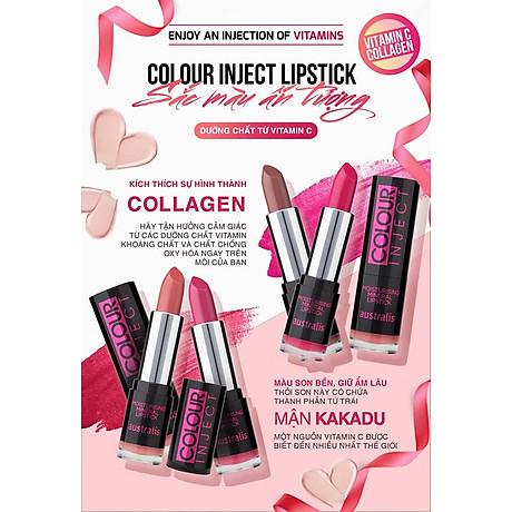 Son Lì Colour Inject Lipstick Australis Úc 4