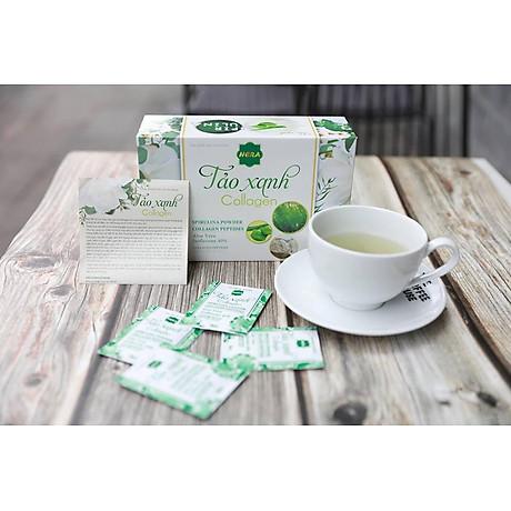 Thực phẩm chức năng Tảo Xanh Collagen Hera - Hộp 30 gói 4