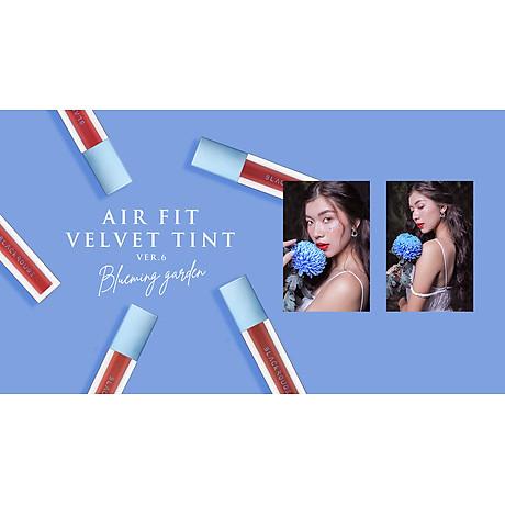 Son Kem Lì Mịn Lâu Trôi Black Rouge Air Fit Velvet Tint Ver 6 Blueming Garden 5