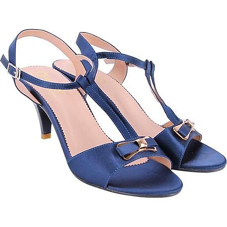 Giày Sandal Nữ Cao Gót Huy Hoàng HT7053 - Xanh 4