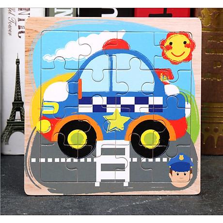 Combo Tranh ghép hình 16 miếng bằng gỗ cho bé tặng kèm bấm móng tay hình thú siêu dễ thương và tiện dụng 4