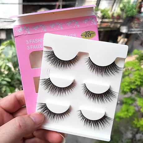Mi giả 3 Fashion Eyelashes 3 Faux - Cils (kiểu mi 3D Y17) 4