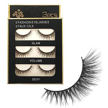 Lông mi chồn 3 Fashion Eyelashes 3 Faux (Dày mi L6) 1