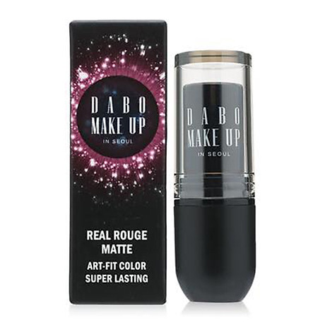 Son thỏi siêu lì chuẩn màu Dabo Make Up Real RouGe Matte Hàn Quốc No.101 (Magenta Pink) Tặng móc khoá 2