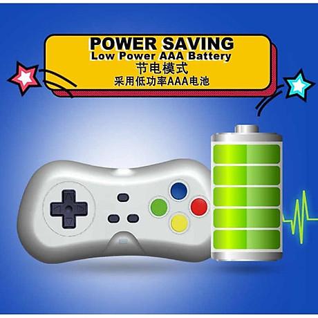 Máy Chơi Game 4K Điện Tử 4 Nút 638 Trò - Phiên Bản 2 Tay Cầm Chơi Game - Cắm Cổng HDMI - Kết Nối Không Dây (tặng chai dầu tràm hoa nén) Máy được giao theo màu ngẫu nhiên 4