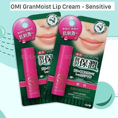 Son Dưỡng Ẩm Chuyên Biệt Cho Môi Nhạy Cảm Omi Granmoist Lip Sensitive 5