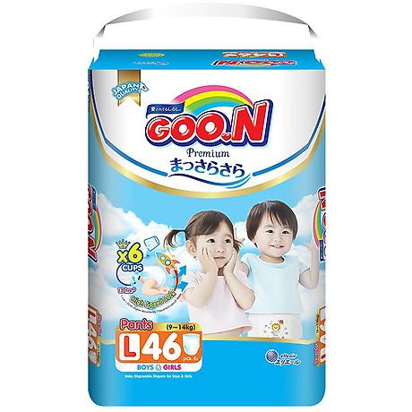 Tã Quần Goo.n Premium Gói Cực Đại L46 (46 Miếng) - Tặng thêm 8 miếng cùng size 2