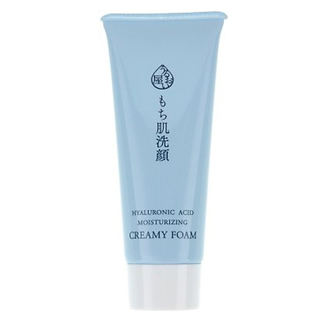 Sữa rửa mặt chống lão hóa Naris Uruoi-ya Hyaluronic Acid Moisturizing Creamy Foam Nhật Bản 100ml + Móc khóa 2