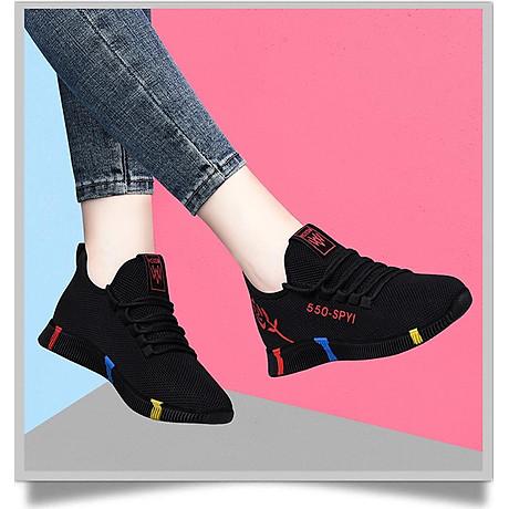 Giày sneaker nữ thời trang mới nhất buộc dây siêu nhẹ V245 5