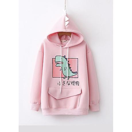 Áo hoodie nữ Khủng Long siêu dễ thương - PP06A 4