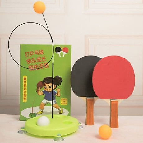 Bóng bàn tập phản xạ lắc lư cho bé - tặng kèm 3 trái bóng 1