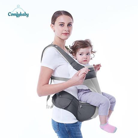 Địu ngồi cao cấp 4 tư thế chống vòng kiềng Comfy Baby 9