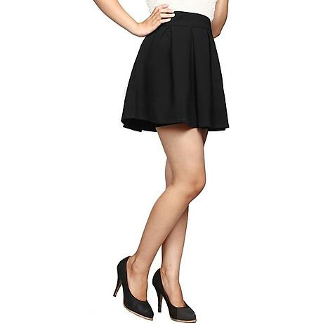 Chân váy xòe xếp ly dáng ngắn 1