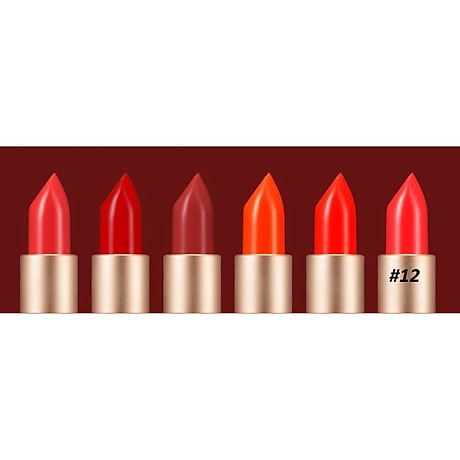 Son Dưỡng Lâu Trôi (màu Patty Red) No 12_Javin De Seoul Flower For Me Velvet Lipstick 12 (Party Red) 3