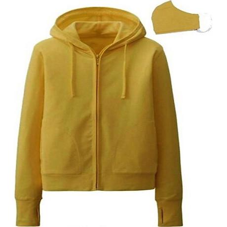 Áo chống nắng cotton mát mịn + khẩu trang (Màu Ngẫu Nhiên) 8