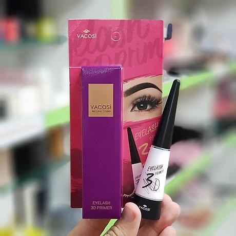 Combo 02 Keo Dán Mi Giả Vacosi Natural Studio Eyelash 3D Primer 3