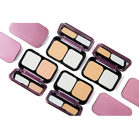 Phấn Trang Điểm Siêu Mịn 5 Trong 1 Maybelline Clearsmooth All In One Two Way Cake - Màu 03 Natural 9g 3