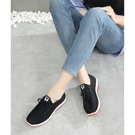 Giày sneaker nữ phong cách thể thao thoáng khí 197 5