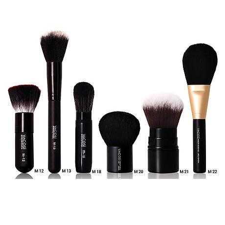 Cọ tán phấn phủ cáo cấp Vacosi collection Pro-makeup M-22 2