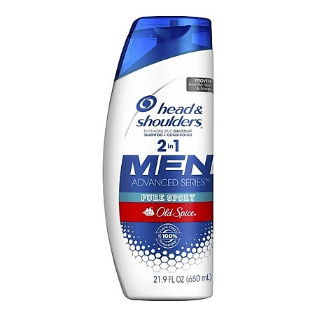 Dầu gội và xả Head & Shoulders Men 2in1 Old Spice Pure Sport 650ml 1