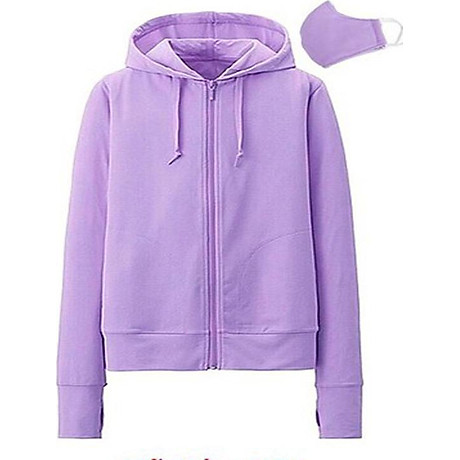 Áo chống nắng cotton mát mịn + khẩu trang (Màu Ngẫu Nhiên) 4