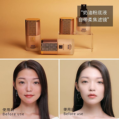 Kem nền HOJO Liquid Foundation Light And Breathable Concealer HLF2 2