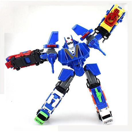 Bộ đồ chơi Robot lắp ghép biến hình cho bé yêu 5