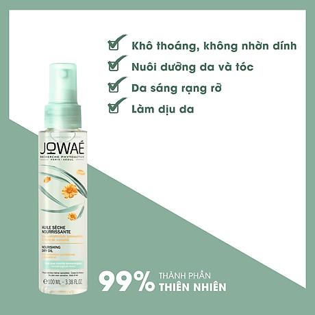 Dầu khô nuôi dưỡng da và tóc Jowae Hàng chính hãng từ Pháp Nourishing Dry Oil 100ml 3