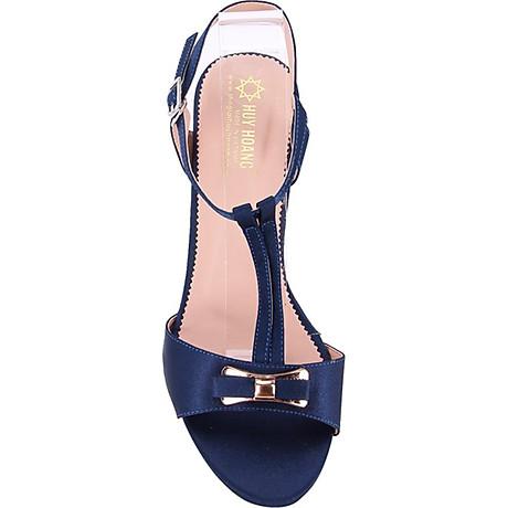 Giày Sandal Nữ Cao Gót Huy Hoàng HT7053 - Xanh 2