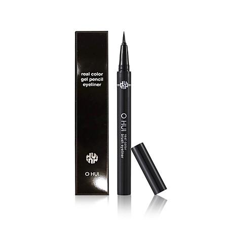 Kẻ mắt nước OHUI Real Color Brush Eyeliner 01 màu đen 1