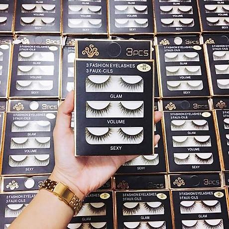 Lông mi chồn 3 Fashion Eyelashes 3 Faux (Dày mi L18) 2