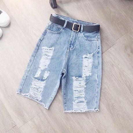 Quần Jeans Lửng Nữ (Không Kèm Thắt Lưng) 1