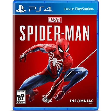 Đĩa Game PlayStation PS4 Sony Marvel Spider Man hệ Asia - Hàng Nhập Khẩu 1