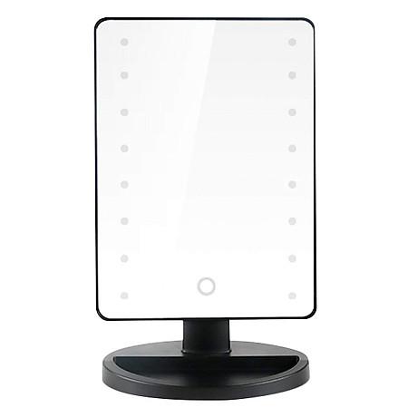 Gương Trang Điểm Để Bàn LED Chữ Nhật 1