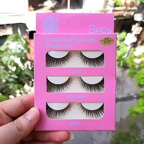 Mi giả 3 Fashion Eyelashes 3 Faux - Cils (kiểu mi 3D Y17) 3
