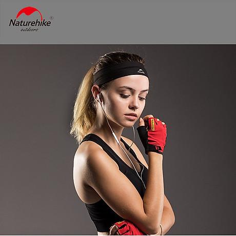 Băng đô Băng trán thể thao Headband NatureHike hàng chính hãng cho nam và nữ thấm hút mồ hôi nhanh 7