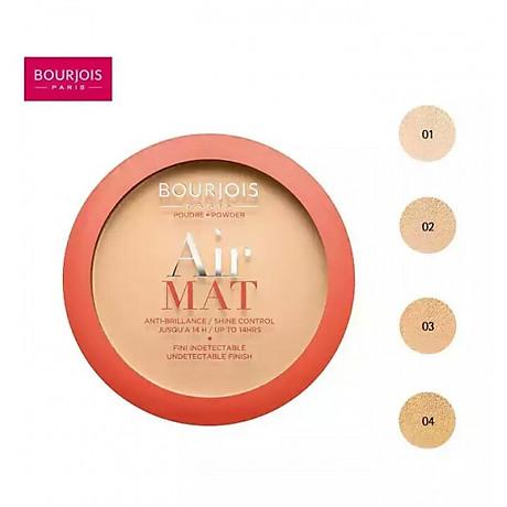Bourjois Air Mat Compact Powder N01 2