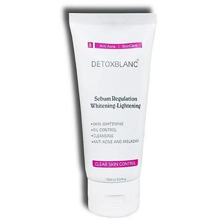 Sửa Rửa Mặt Chăm Sóc Da Mụn Nhạy Cảm Detox BlanC Clear Skin Control (mẫu mới) 1