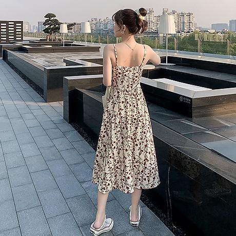 Váy 2 dây dáng dài, chất liệu vải cao cấp nhẹ nhàng thoáng mát,phù hợp đi biển đi chơi ngày hè 6