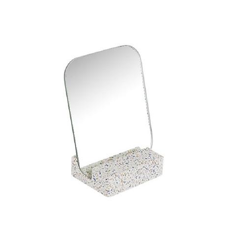 Gương để bàn Monote Terazo kèm đế giữ gương màu đá cao cấp 1