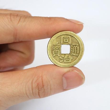 Tiền xu ngũ đế, tiền xu phong thuỷ bỏ bóp ví - THM15 3