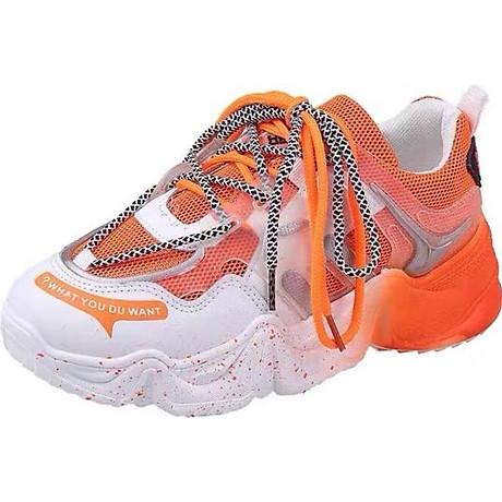 Giày thể thao sneaker nữ WHDYW màu sắc siêu đẹp, thời trang, nhẹ nhàng êm chân 3
