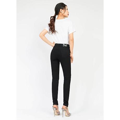 Quần jean nữ đen ôm 2