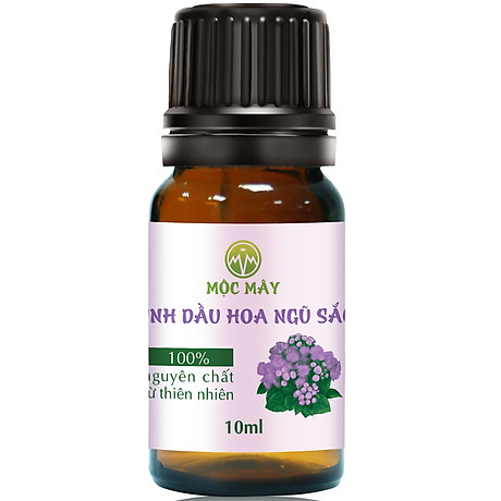 Tinh dầu hoa Ngũ Sắc (hoa cỏ hôi) 10ml Mộc Mây - tinh dầu nguyên chất từ thiên nhiên - Có kiểm định Bộ Y Tế, chất lượng và mùi hương vượt trội 1